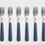 Blue Heart Dinner Forks