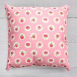 Friends Flower Cushion pink