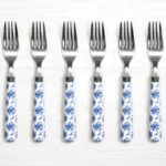 Night Bouquet Dinner Forks